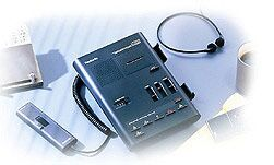 Olympus DT-1000 D voice recorder system analog (055349)