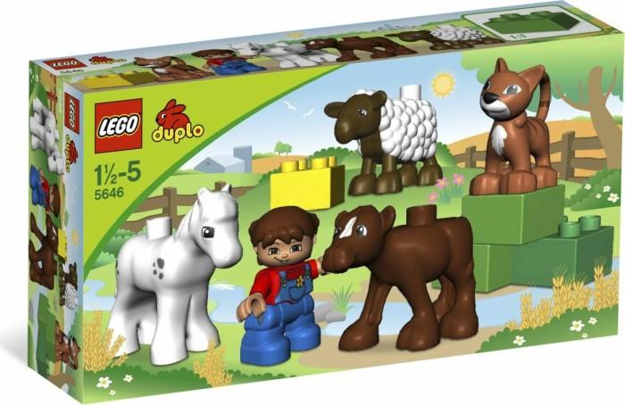 LEGO DUPLO Bauernhof - Tierbabys auf dem Bauernhof (5646) -- via Amazon Partnerprogramm
