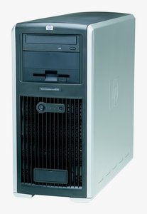 HP Workstation xw8000, Xeon 2.80GHz, 512MB (various types)