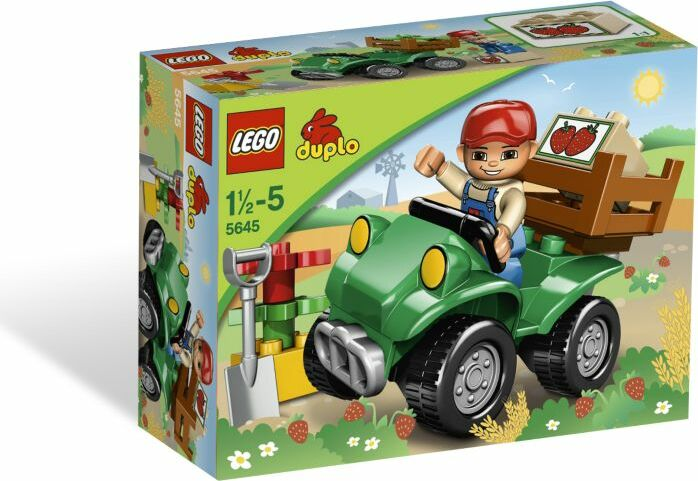 LEGO DUPLO Bauernhof - Gelände-Quad für den Bauernhof (5645) -- via Amazon Partnerprogramm