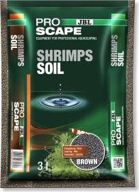 JBL Pro Scape Shrimps Soil Brown Süßwasser-Aquarien Bodengrund für Garnelen-Aquarien, 3l (6708400)