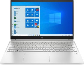 HP Pavilion 15-eh0800ng Natural Silver, Ryzen 5 4500U, 8GB RAM, 512GB SSD, DE (20C83EA#ABD)