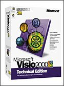 Microsoft: Visio 2000 technical Edition (PC) (D88-00004)