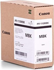 Canon Tinte PFI-110MBK schwarz matt (2363C001)
