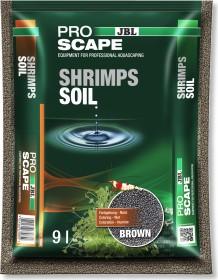 JBL Pro Scape Shrimps Soil Brown Süßwasser-Aquarien Bodengrund für Garnelen-Aquarien, 9l (6708500)