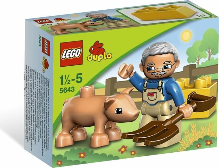 LEGO DUPLO Bauernhof - Kleines Ferkel (5643) -- via Amazon Partnerprogramm