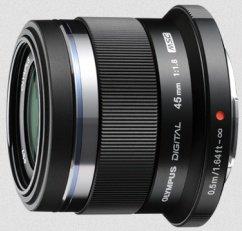 Olympus M.Zuiko digital 45mm 1.8 black (V311030BE000)