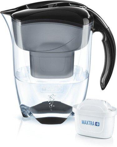 Brita Elemaris XL water filter jug black -- via Amazon Partnerprogramm