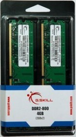 G.Skill NT Series DIMM Kit 4GB, DDR2-800, CL5-5-5-15 (F2-6400CL5D-4GBNT)