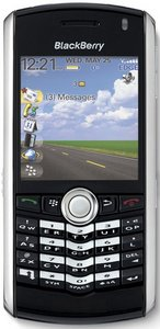 prepaid Blackberry 8110 (various operators) -- The RIM and BlackBerry families of related marks, images and symbols are the exclusive properties of, and trademarks of, Research In Motion – used by permission.