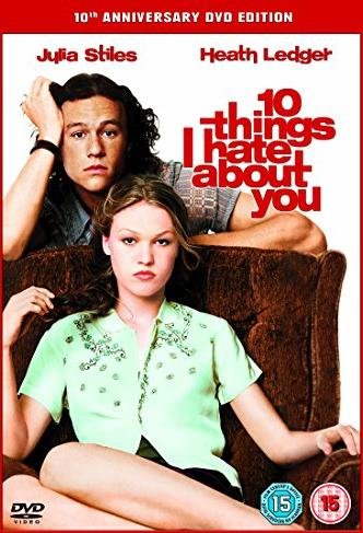 10 Things I Hate About You (UK) -- via Amazon Partnerprogramm