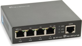 Level One GEP Desktop Gigabit Switch, 5x RJ-45, 60W PoE+ (GEP-0523)
