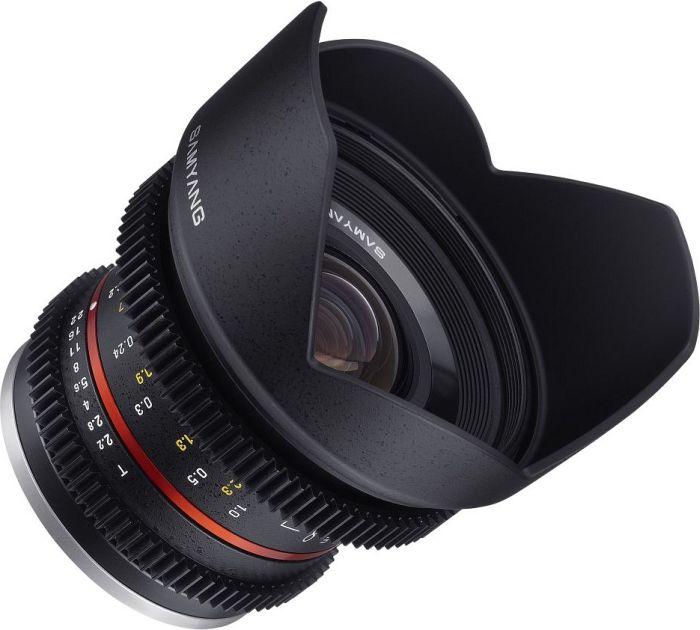 Samyang 12mm T2.2 NCS CS für Fujifilm X schwarz