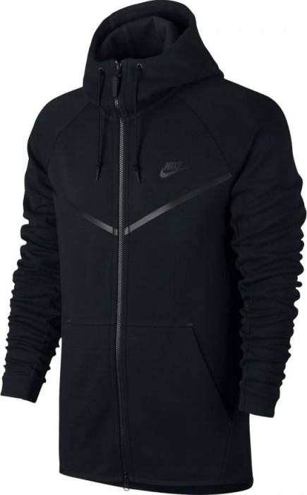 Nike Sportswear Tech Fleece Windrunner Hoodie Jacke schwarz