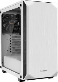 be quiet! Pure Base 500 weiß, Glasfenster, schallgedämmt (BGW35)