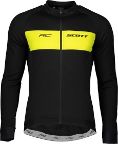 Scott RC Warm Trikot langarm black/sulphur yellow (Herren) (271569-5024)