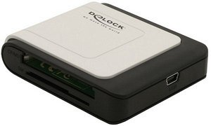 DeLOCK 57in1 Card Reader, USB 2.0 (91629)