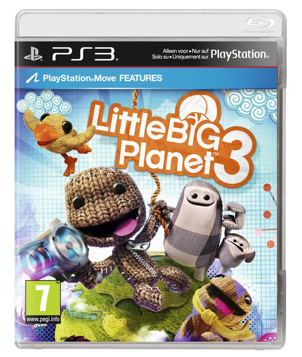 Little Big Planet 3 (Move) (PS3)