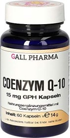 coenzyme Q10 15mg GPH capsules, 60 pieces