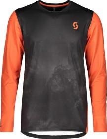 Scott Trail Storm Trikot langarm black/orange pumpkin (Herren) (271578-6275)