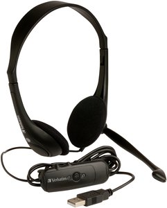 Verbatim USB-multimedia headphone (41822)