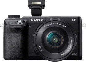 Sony Alpha NEX-6 schwarz mit Objektiv AF E 16-50mm 3.5-5.6 OSS PZ (NEX-6L)