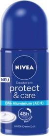 Nivea Protect & Care Deodorant Roll-On, 50ml