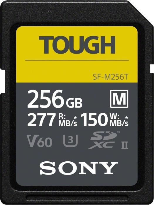 Sony SF-M Tough Series R277/W150 SDXC 256GB, UHS-II U3, Class 10 (SF-M256T)