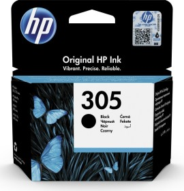 HP Printhead with ink 305 black, 2-pack (2M3D2V7)