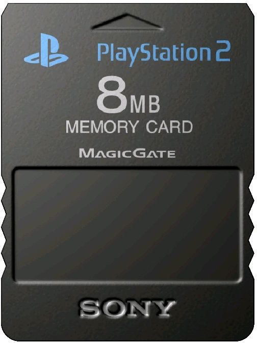 Sony PlayStation 2 Memory Card 8MB - Twin Pack (PS2)