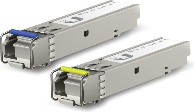 Ubiquiti UF-SM Gigabit LAN-Transceiver, LC-Simplex SM 3km, SFP, 20er-Pack (UF-SM-1G-S-20)