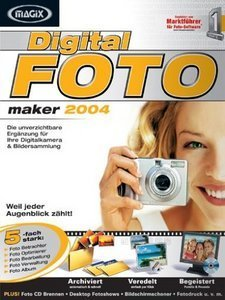 Magix: digital photo Maker 2004 (PC)