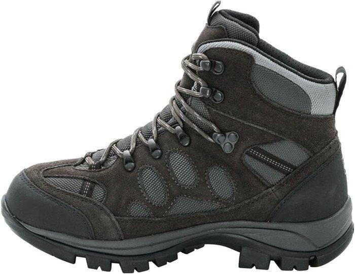 Jack Wolfskin All Terrain 7 Texapore Mid W, Damen Trekking- & Wanderstiefel, Grau (Shadow Black 6101), 39 EU (5.5 Damen UK)
