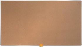 "Nobo Kork-Notiztafel Widescreen 32"", braun (1905306)"