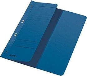 Leitz Ösenhefter A4 für Amtsheftung, 1/2 Vorderdeckel, dunkelblau (37410035)