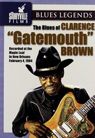 """Clarence """"Gatemouth"""" Brown - The Blues of (DVD)"""