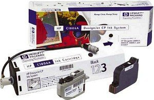 HP DesignJet Ink System CP black (C1806A)