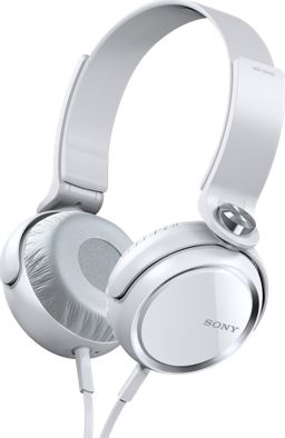 Sony MDR-XB400 white