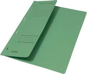 Leitz Ösenhefter A4 für kaufmännische Heftung, 1/2 Vorderdeckel, hellgrün (37400055)