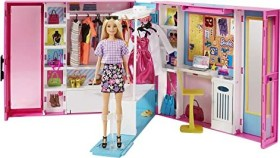 Mattel Barbie Fashionistas Traum Kleiderschrank ausklappbar (GBK10)