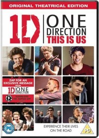 One Direction - This Is Us (DVD) (UK)