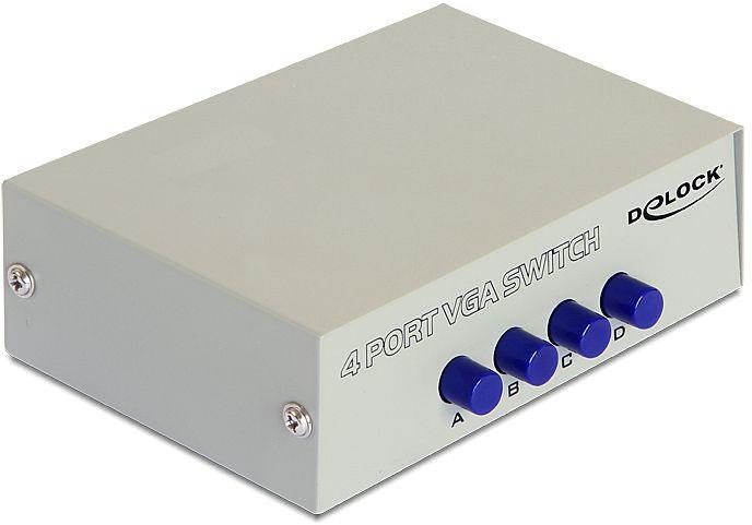 DeLOCK 4-port VGA KVM switch (87635)