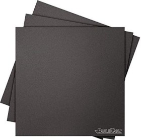 "BuildTak 3D Print Surface, 8x8"", black, 3-pack (BT08X08-3PK)"