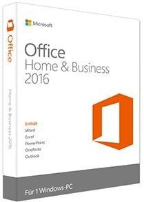 Microsoft: Office 2016 Home and Business, PKC (deutsch) (PC) (T5D-02392)