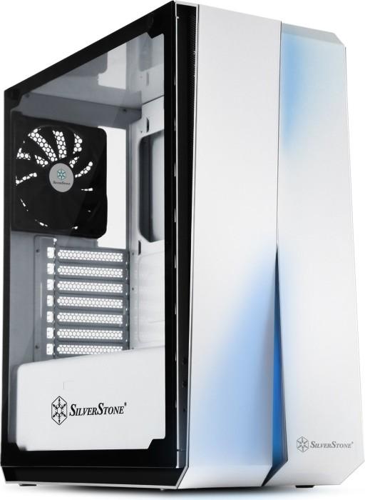 SilverStone Redline Series RL07 weiß, Glasfenster (SST-RL07W-G/22112)