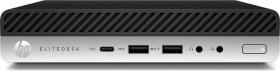 HP EliteDesk 800 G4 DM, Core i5-8500T, 8GB RAM, 256GB SSD (4RC22AW#ABD)