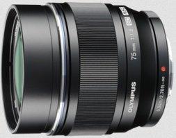 Olympus M.Zuiko digital ED 75mm 1.8 black (V311040BE000)