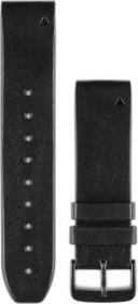 Garmin replacement bracelet QuickFit 22 leather black (010-12500-02)
