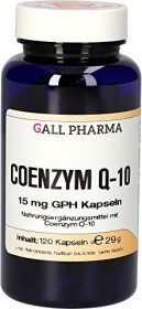 coenzyme Q10 15mg GPH capsules, 120 pieces