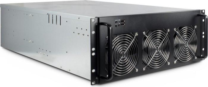 Inter-Tech 4W2 Mining-Rack, 4HE, 1200W ATX (99997000)